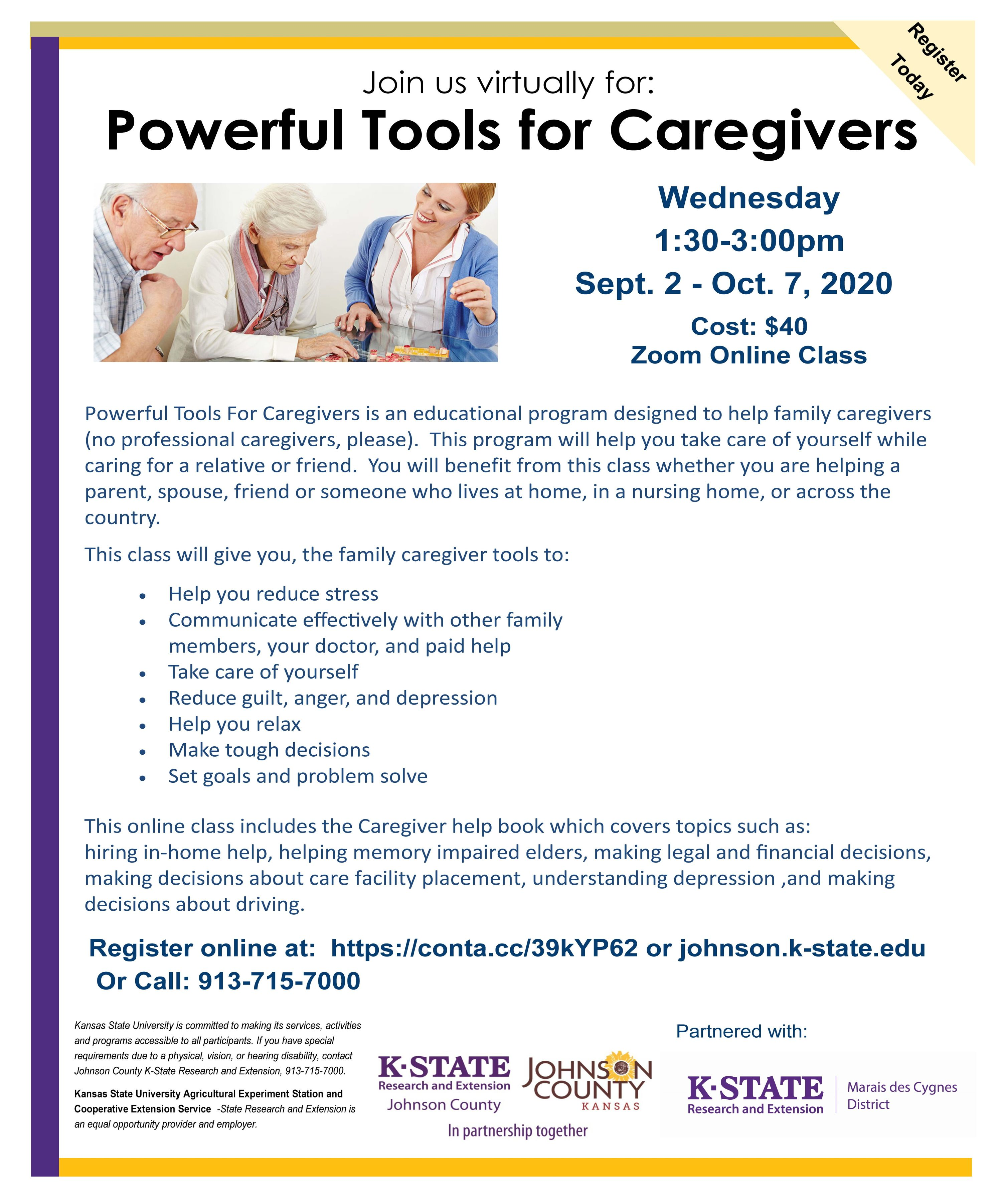2020 Powerful Tools for Caregivers